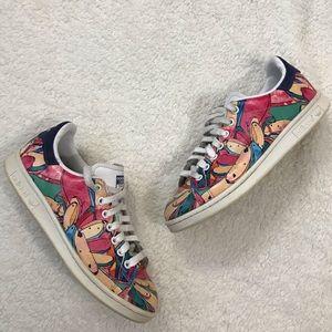 Adidas Stan Smith Floral Colorful Graffiti Sneaker